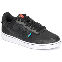 Schoenen Dames Lage sneakers Nike COURT VISION LOW PREM Zwart