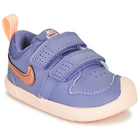 Schoenen Meisjes Lage sneakers Nike PICO 5 TD Violet / Roze
