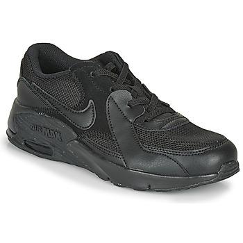 Schoenen Kinderen Lage sneakers Nike AIR MAX EXEE PS Zwart