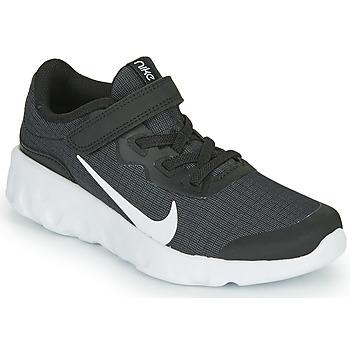 Schoenen Kinderen Lage sneakers Nike EXPLORE STRADA PS Zwart / Wit