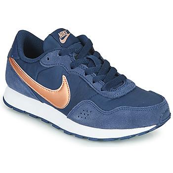 Schoenen Kinderen Lage sneakers Nike MD VALIANT GS Blauw /  cuivré