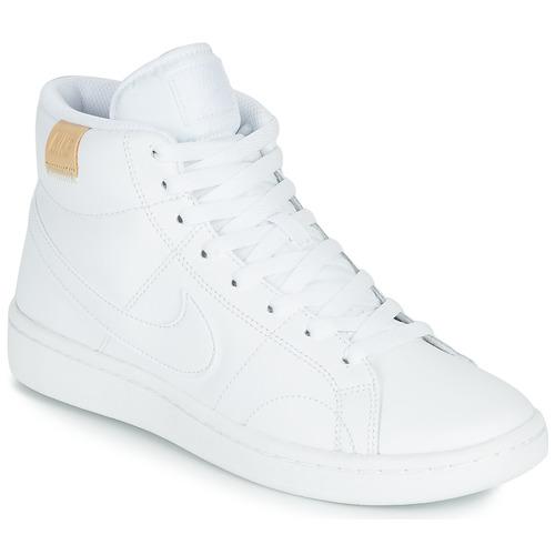 Schoenen Dames Lage sneakers Nike COURT ROYALE 2 MID Wit