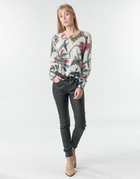 Textiel Dames 5 zakken broeken One Step FR29031_02 Zwart