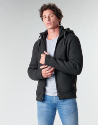 Textiel Heren Wind jackets Superdry EXPEDITION ZIP THRU Zwart