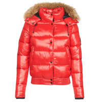 Textiel Dames Dons gevoerde jassen Superdry HIGH SHINE TOYA BOMBER Rood