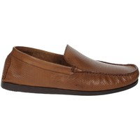 Schoenen Heren Mocassins Pregunta MIAP1405 Brown leather