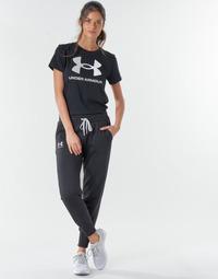 Textiel Dames Trainingsbroeken Under Armour RIVAL FLEECE JOGGERS Zwart