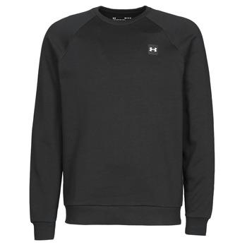 Textiel Heren Sweaters / Sweatshirts Under Armour UA RIVAL FLEECE CREW Zwart