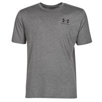 Textiel Heren T-shirts korte mouwen Under Armour SPORTSTYLE LEFT CHEST SS Grijs