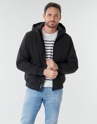 Textiel Heren Dons gevoerde jassen Esprit LL 3LSOFTSHEL Zwart