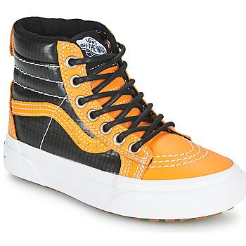 Schoenen Jongens Hoge sneakers Vans SK8-HI MTE  camel / Zwart