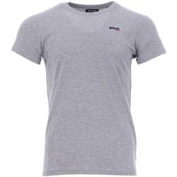 Textiel Heren T-shirts korte mouwen Schott  Grijs