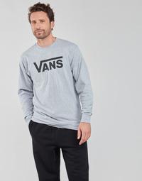 Textiel Heren T-shirts met lange mouwen Vans VANS CLASSIC LS Grijs