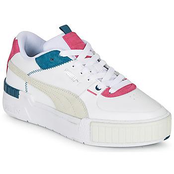Schoenen Dames Lage sneakers Puma CALI SPORT Wit / Grijs