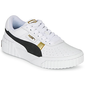 Schoenen Dames Lage sneakers Puma CALI VARSITY Wit / Zwart