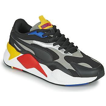 Schoenen Lage sneakers Puma RS-X3 Zwart / Rood / Geel