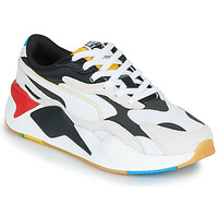 Schoenen Lage sneakers Puma RS-X3 Unity Collection Wit / Zwart / Rood