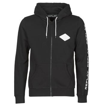 Textiel Heren Sweaters / Sweatshirts Replay M3221 Zwart