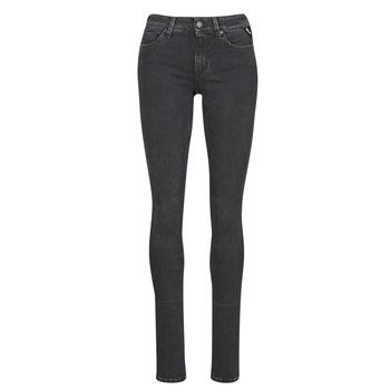 Textiel Dames Skinny jeans Replay LUZ / HYPERFLEX / RE-USED Zwart