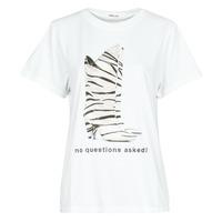 Textiel Dames T-shirts korte mouwen Replay W3509D Wit