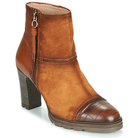 Schoenen Dames Enkellaarzen Hispanitas ATLASSE Brown