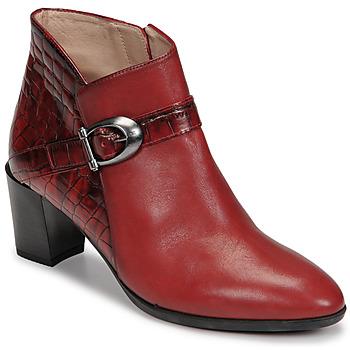 Schoenen Dames Enkellaarzen Hispanitas PIRINEO Rood