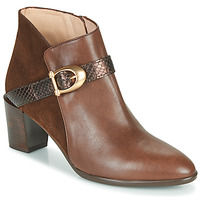 Schoenen Dames Enkellaarzen Hispanitas PIRINEO Brown