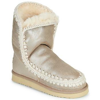 Schoenen Dames Laarzen Mou ESKIMO 24 Goud