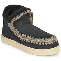 Schoenen Dames Laarzen Mou ESKIMO SNEAKER Zwart