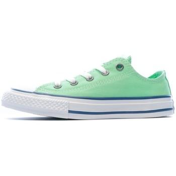 Schoenen Meisjes Lage sneakers Converse  Groen