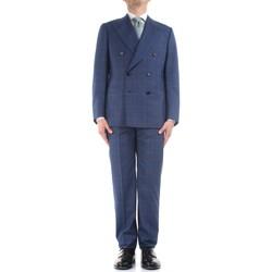 Textiel Heren Anzüge Cesare Attolini S20WA30 B12 Blue