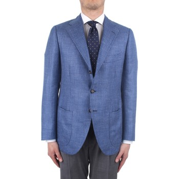 Textiel Heren Jasjes / Blazers Cesare Attolini S20MA43 Blue