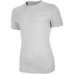 Textiel Dames T-shirts korte mouwen 4F TSM003 Gris