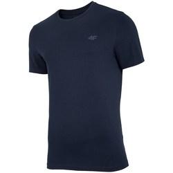 Textiel Heren T-shirts korte mouwen 4F TSM003 Noir
