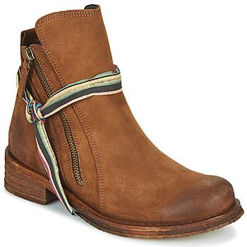 Schoenen Dames Laarzen Felmini COOPER  camel