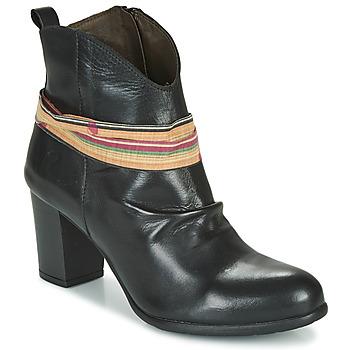 Schoenen Dames Enkellaarzen Felmini EMORI Zwart