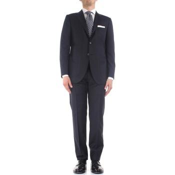 Textiel Heren Anzüge Kiton K06S12/36 Blue