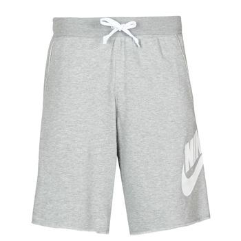 Textiel Heren Korte broeken / Bermuda's Nike M NSW SCE SHORT FT ALUMNI Grijs