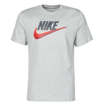 Textiel Heren T-shirts korte mouwen Nike M NSW TEE BRAND MARK Grijs