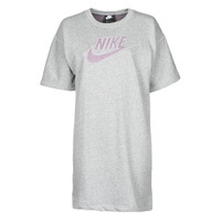 Textiel Dames Korte jurken Nike W NSW DRESS FT M2Z Grijs