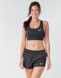Textiel Dames Sport BHs Nike NIKE SWOOSH BAND BRA NON PAD Zwart