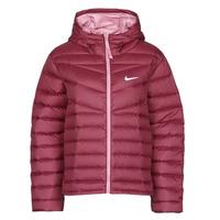 Textiel Dames Dons gevoerde jassen Nike W NSW WR LT WT DWN JKT Bordeaux