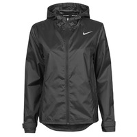 Textiel Dames Windjacken Nike W NK ESSENTIAL JACKET Zwart
