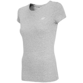 Textiel Dames T-shirts korte mouwen 4F TSD001 Gris
