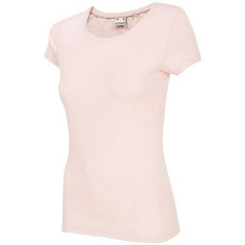 Textiel Dames T-shirts korte mouwen 4F TSD001 Rose