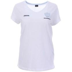 Textiel Dames T-shirts korte mouwen Kappa  Wit