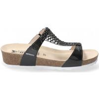 Schoenen Dames Leren slippers Mephisto SOFIE Grijs