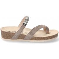 Schoenen Dames Leren slippers Mephisto SOLAINE Brown