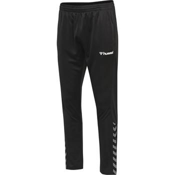 Textiel Trainingsbroeken Hummel Pantalon  hmlAUTHENTIC Poly noir/blanc