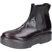 Schoenen Dames Enkellaarzen Moma BM507 Marron